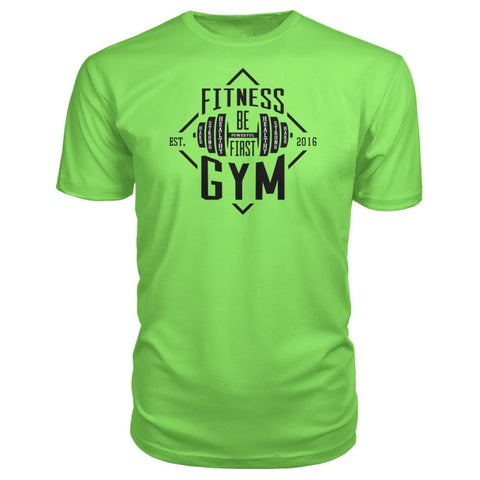 Image of Fitness Gym Premium Tee - Key Lime / S - Short Sleeves