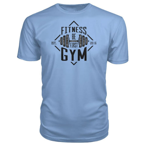Image of Fitness Gym Premium Tee - Light Blue / S - Short Sleeves