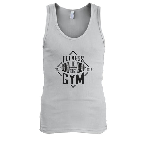 Fitness Gym Tank - Ash / S - Tank Tops