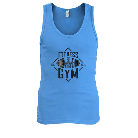 Fitness Gym Tank - Carolina Blue / S - Tank Tops