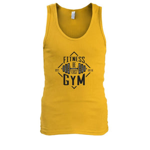 Fitness Gym Tank - Gold / S - Tank Tops