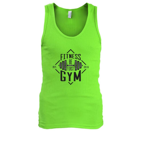 Fitness Gym Tank - Lime / S - Tank Tops