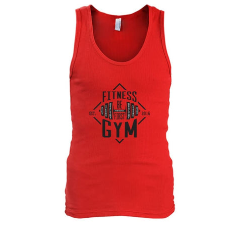 Fitness Gym Tank - Red / S - Tank Tops