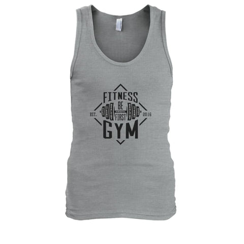 Fitness Gym Tank - Sport Grey / S - Tank Tops