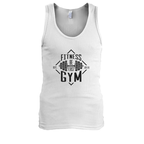 Fitness Gym Tank - White / S - Tank Tops