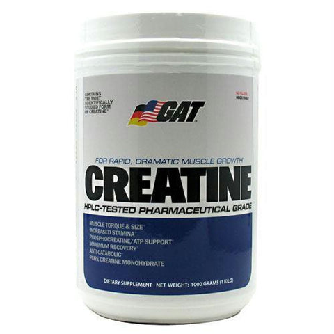 GAT Creatine Unflavored - Unflavored / 200 ea - Supplements