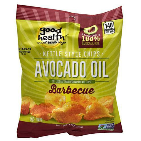 Good Health Natural Foods Kettle Chips Avocado Oil BBQ - Gluten Free - Avocado Oil BBQ / 30 ea - Snacks / Foods