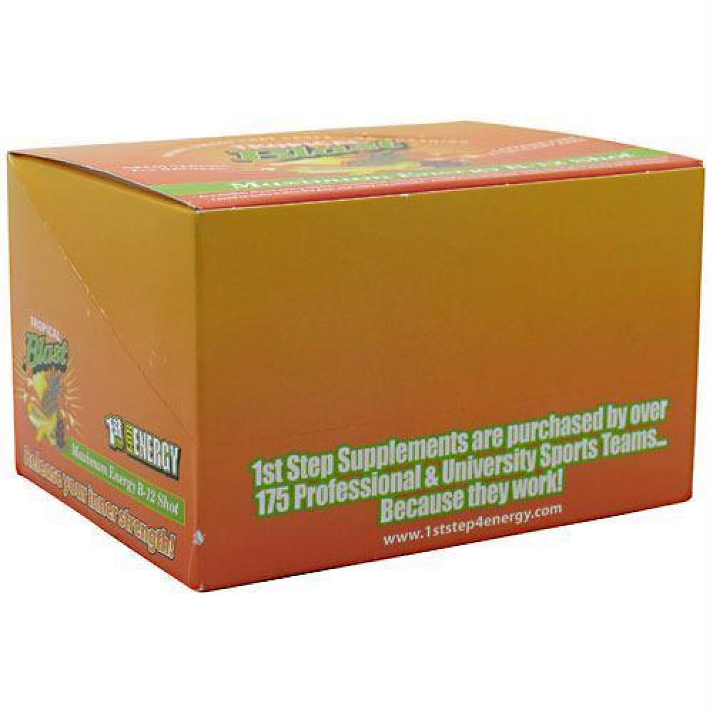 High Performance Fitness B-12 Boost Tropical Blast - Tropical Blast / 12 ea - Liquid Shot