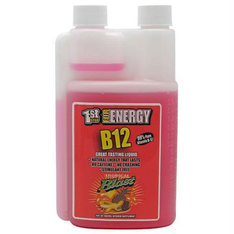 High Performance Fitness B12 Boost Cherry Charge - Tropical Blast / 16 oz - Supplements