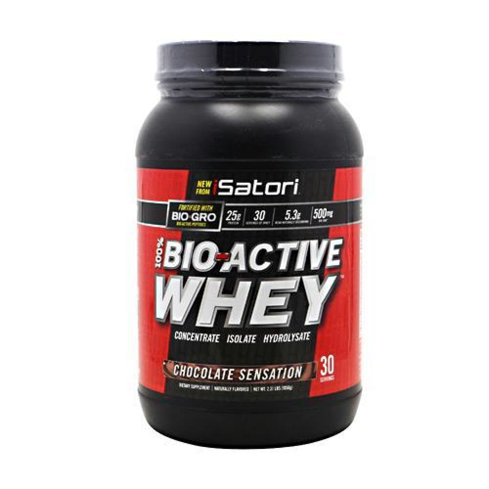 iSatori Technologies Bio-Active Whey Vanilla Swirl - Chocolate Sensation / 30 ea - Supplements