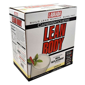 Labrada Nutrition Carb Watchers Lean Body Strawberry - Gluten Free - Vanilla / 20 ea - Supplements