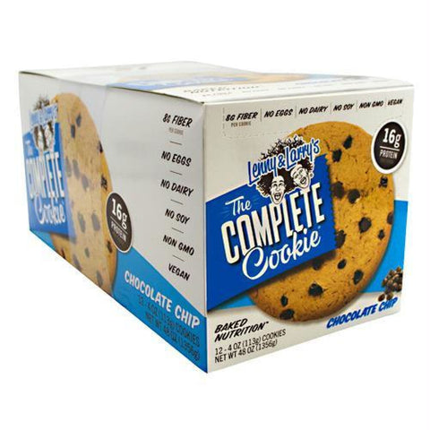 Lenny & Larrys All-Natural Complete Cookie Chocolate Chip - Chocolate Chip / 12 ea - Snacks / Foods