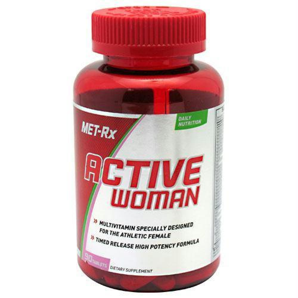 Met-Rx USA Active Woman - 90 ea - Supplements