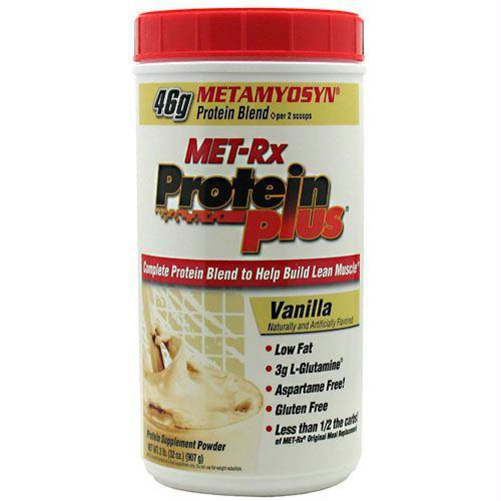 Met-Rx USA Protein Plus Chocolate Roasted Peanut with Caramel - Vanilla / 2 lb - Supplements