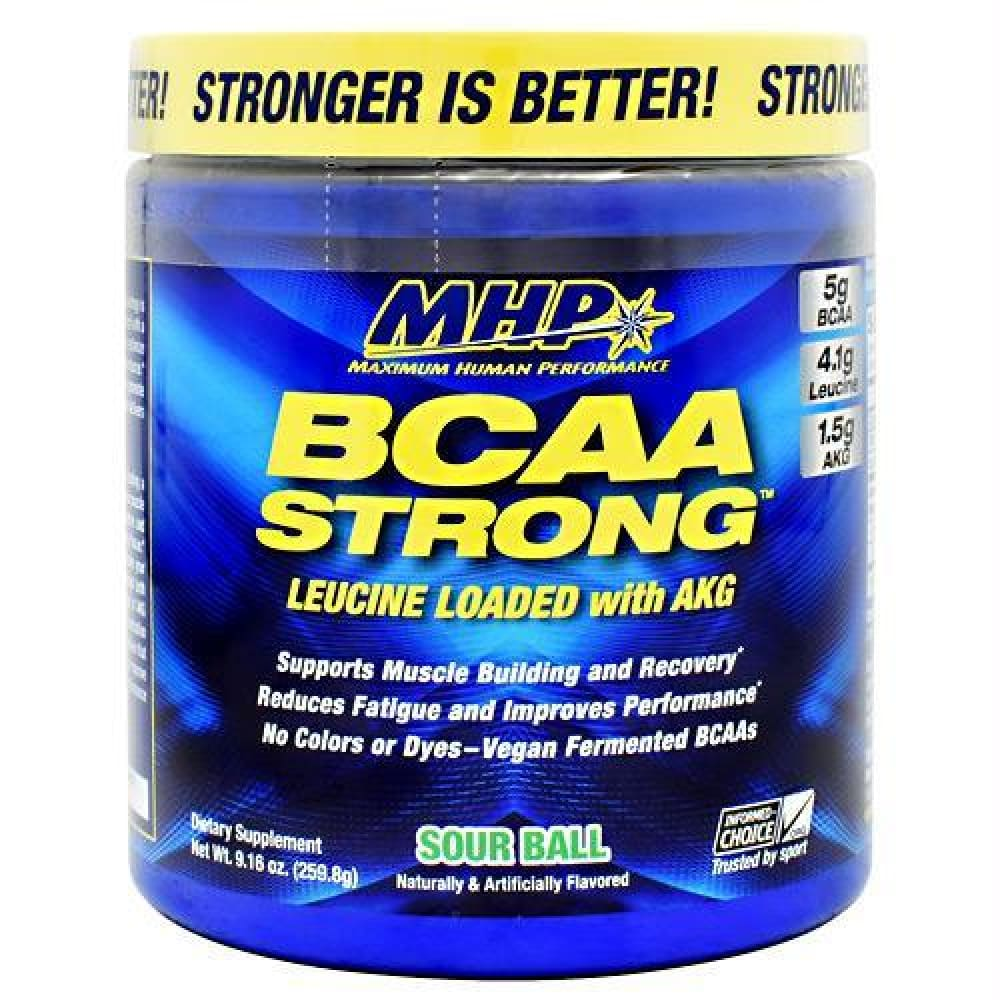 MHP BCAA Strong Sour Ball - Sour Ball / 30 ea - Supplements