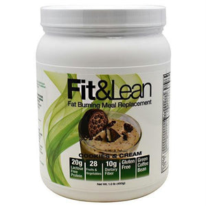 MHP Fit & Lean Cookies & Cream - Gluten Free - Cookies & Cream / 10 ea - Supplements