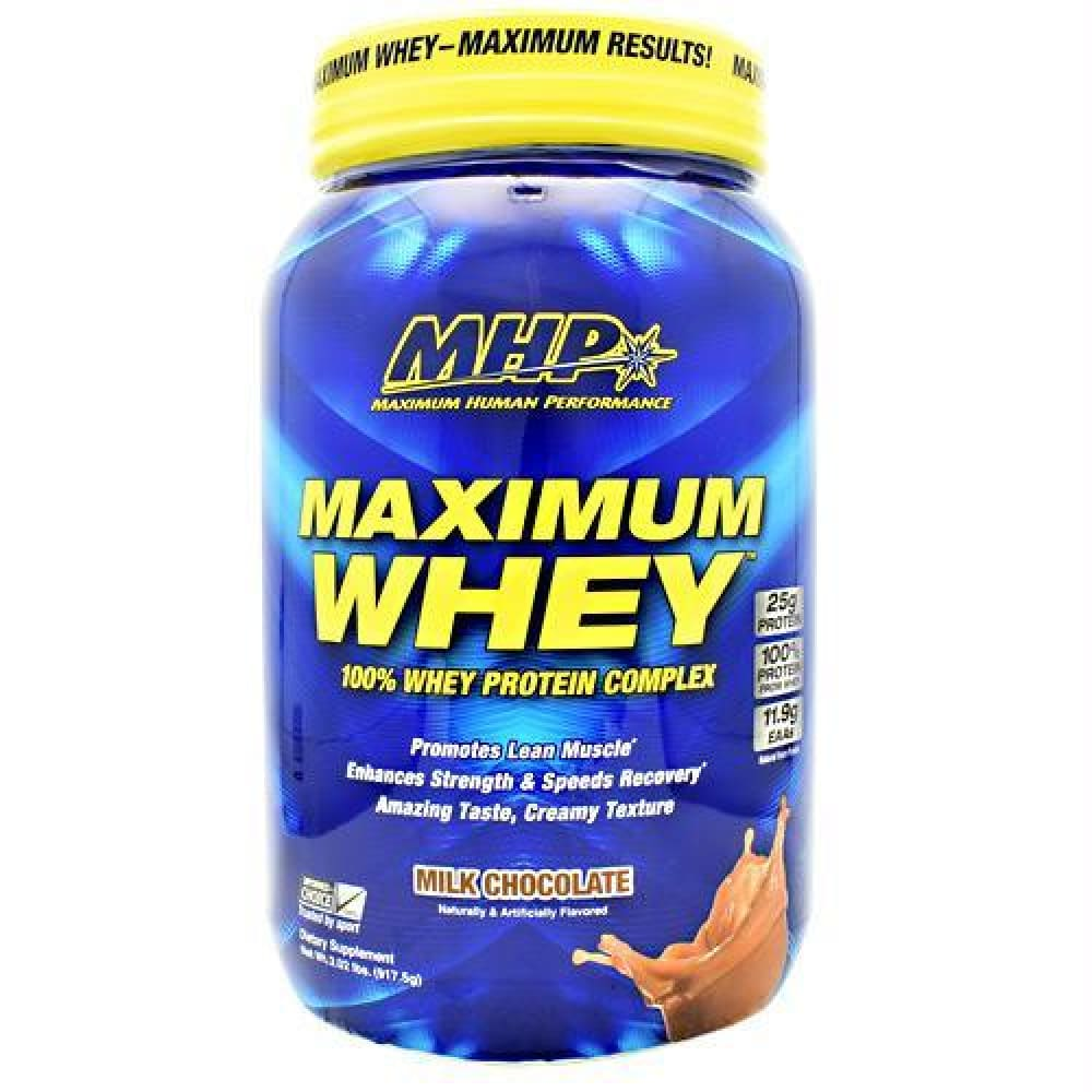 MHP Maximum Whey Milk Chocolate - Milk Chocolate / 2.02 lb - Supplements
