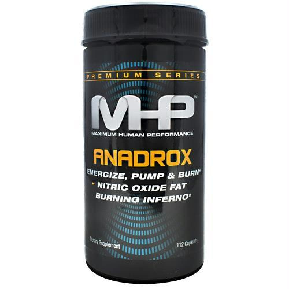 MHP Premium Series Anadrox Pump & Burn - 112 ea - Supplements