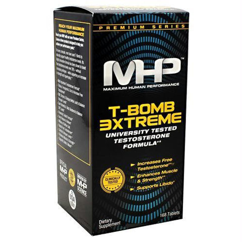 MHP T-BOMB 3XTREME 168 Tablets - 168 Tablets / 168 ea - Supplements