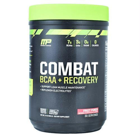 MusclePharm Combat Series Combat BCAA + Recovery Fruit Punch - Fruit Punch / 30 ea - Supplements