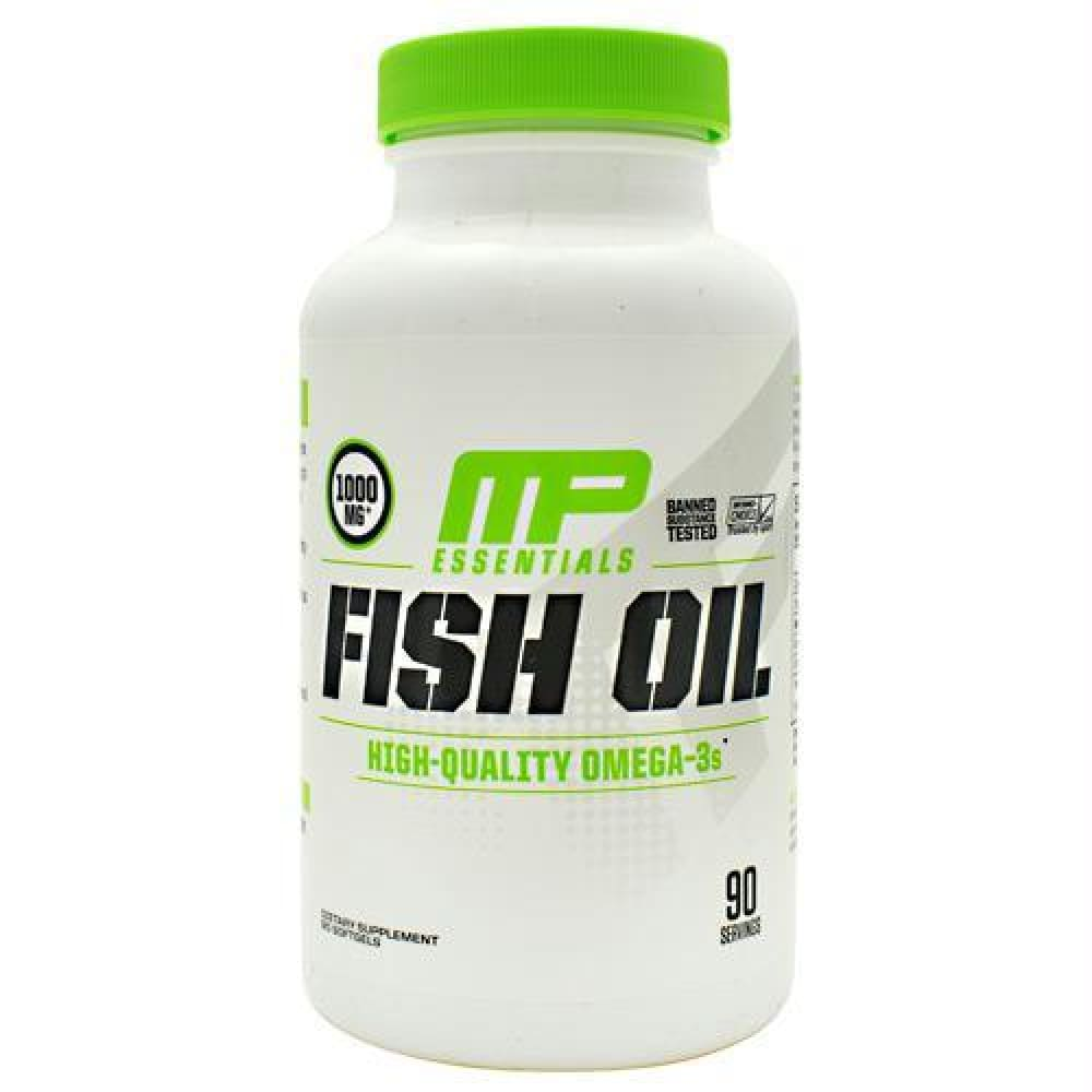 MusclePharm Essentials Fish Oil - 90 ea - Supplements