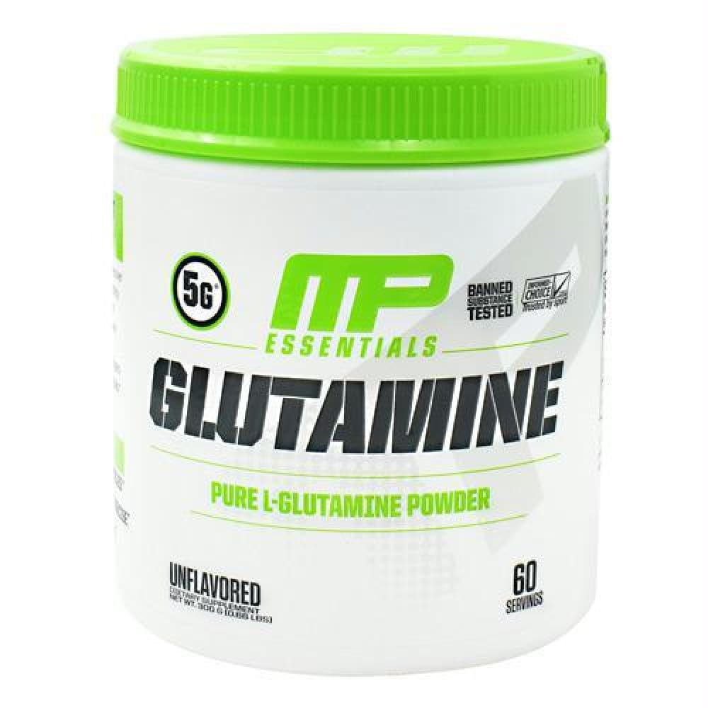 MusclePharm Essentials Glutamine Unflavored - Unflavored / 60 ea - Supplements
