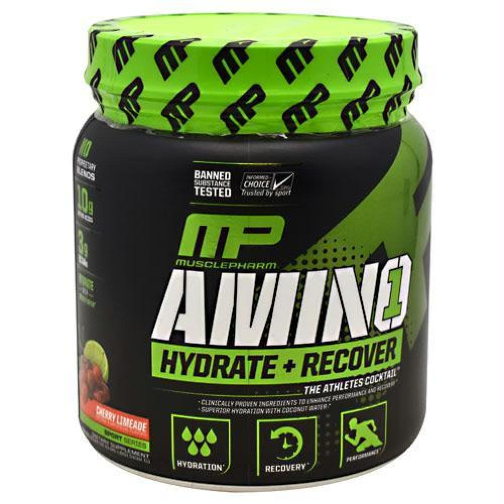 MusclePharm Sport Series Amino 1 Cherry Limeade - Cherry Limeade / 30 ea - Supplements