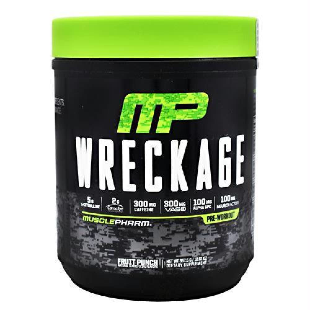 MusclePharm Wreckage Fruit Punch - Fruit Punch / 25 ea - Supplements