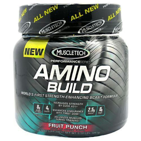 Muscletech Amino Build Fruit Punch - Fruit Punch / 30 ea - Supplements