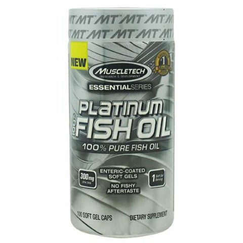 Muscletech Essential Series 100% Platinum Fish Oil - 100 ea - Supplements
