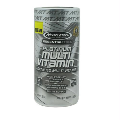 Muscletech Essential Series Platinum Multi Vitamin - 90 ea - Supplements
