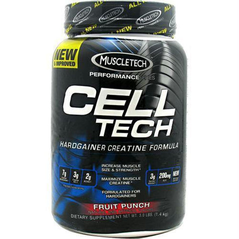 Muscletech Performance Series Cell-Tech Orange - Fruit Punch / 3 lb - Supplements