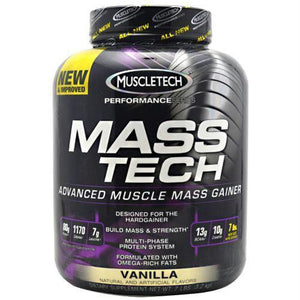 Muscletech Performance Series Mass Tech Vanilla - Vanilla / 7 lb - Supplements