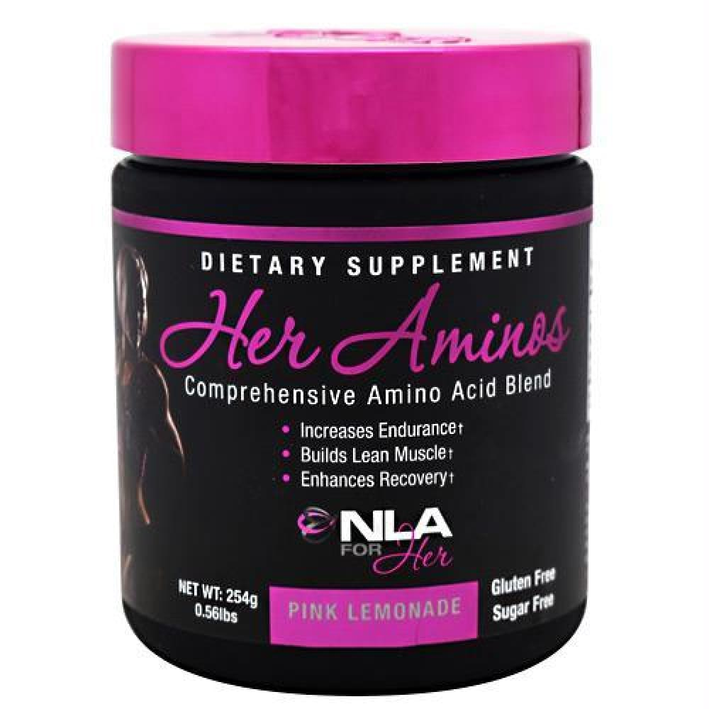 NLA For Her Her Aminos Orange Creamsicle - Gluten Free - Pink Lemonade / 30 ea - Supplements
