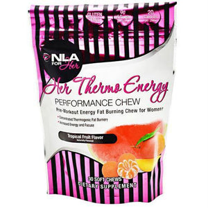 NLA For Her Her Thermo Energy Tropical Fruit - Gluten Free - Tropical Fruit / 30 ea - Supplements