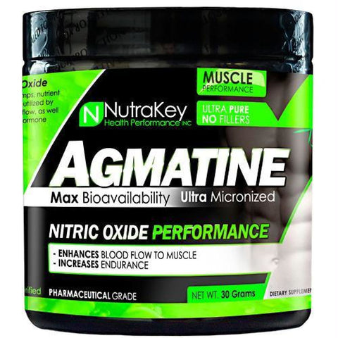 Nutrakey Agmatine - 30 g - Supplements