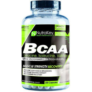 Nutrakey BCAA 1500 - 200 ea - Supplements