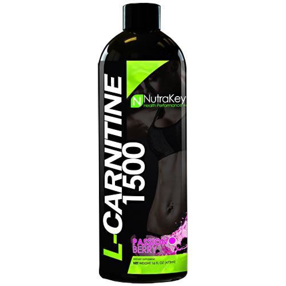 Nutrakey L-Carnitine 1500 Green Apple - Passion Berry / 31 ea - Supplements