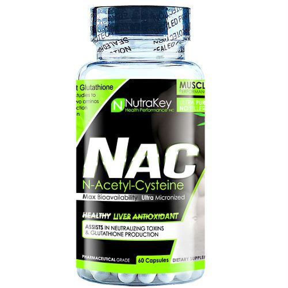 Nutrakey NAC - 60 ea - Supplements