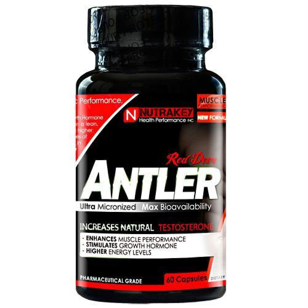 Nutrakey Red Deer Antler - 60 ea - Supplements