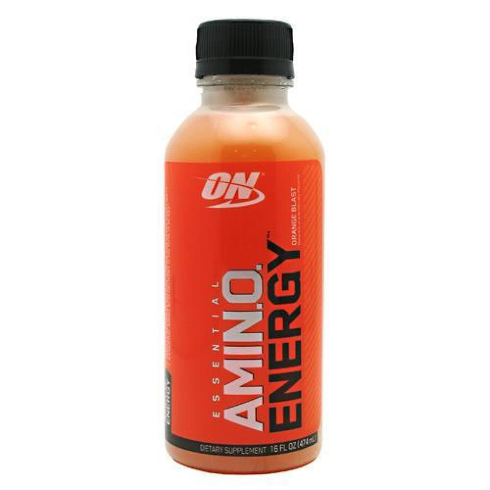 Optimum Nutrition Amino Energy RTD Strawberry Cooler - Orange Blast / 12 ea - Drinks