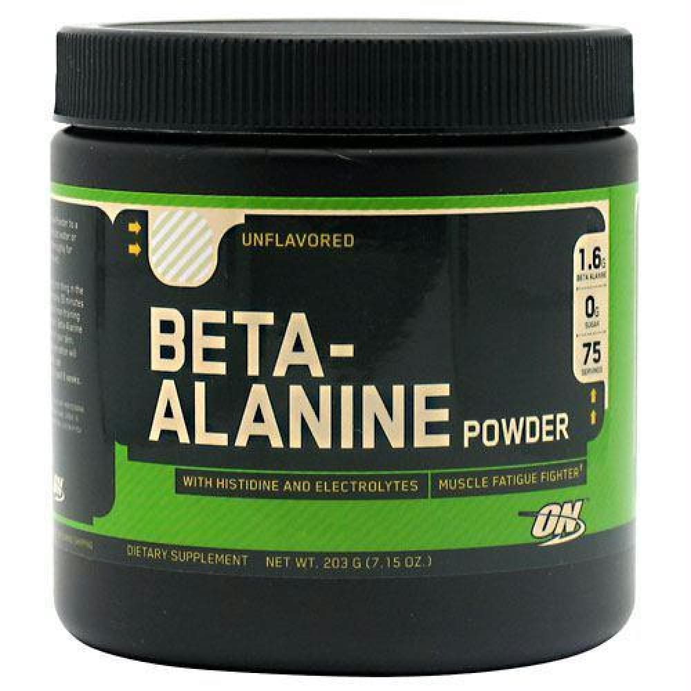 Optimum Nutrition Beta-Alanine Unflavored - Unflavored / 75 ea - Supplements