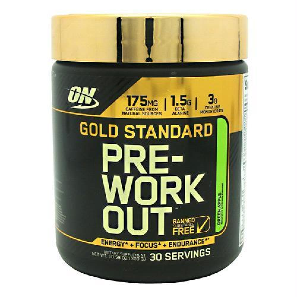 Optimum Nutrition Gold Standard Pre-Workout Pineapple - Green Apple / 30 ea - Supplements