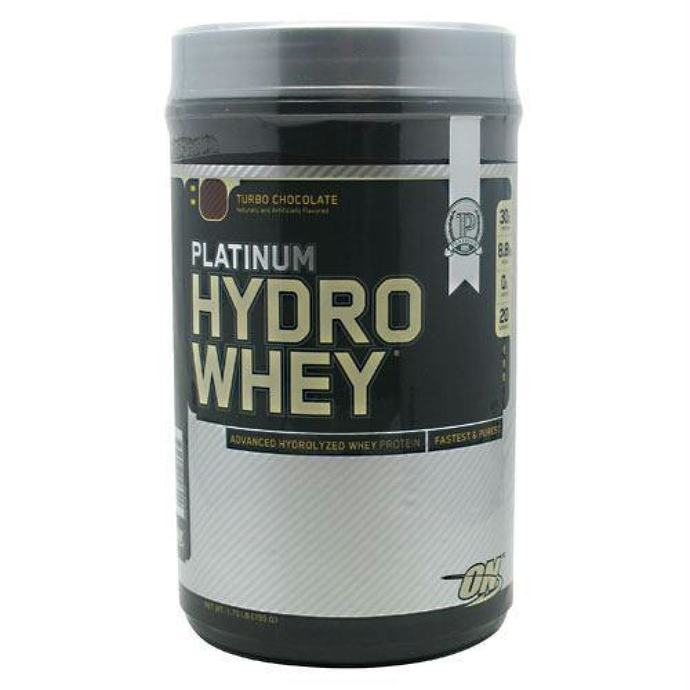 Optimum Nutrition Platinum Hydrowhey Chocolate Peanut Butter - Turbo Chocolate / 1.75 lb - Supplements