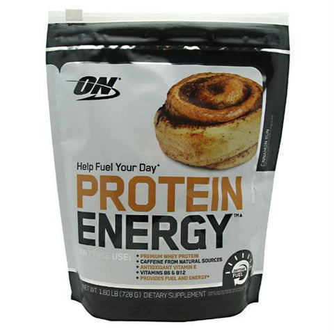 Optimum Nutrition Protein Energy Mocha Cappuccino - Cinnamon Bun / 52 ea - Supplements