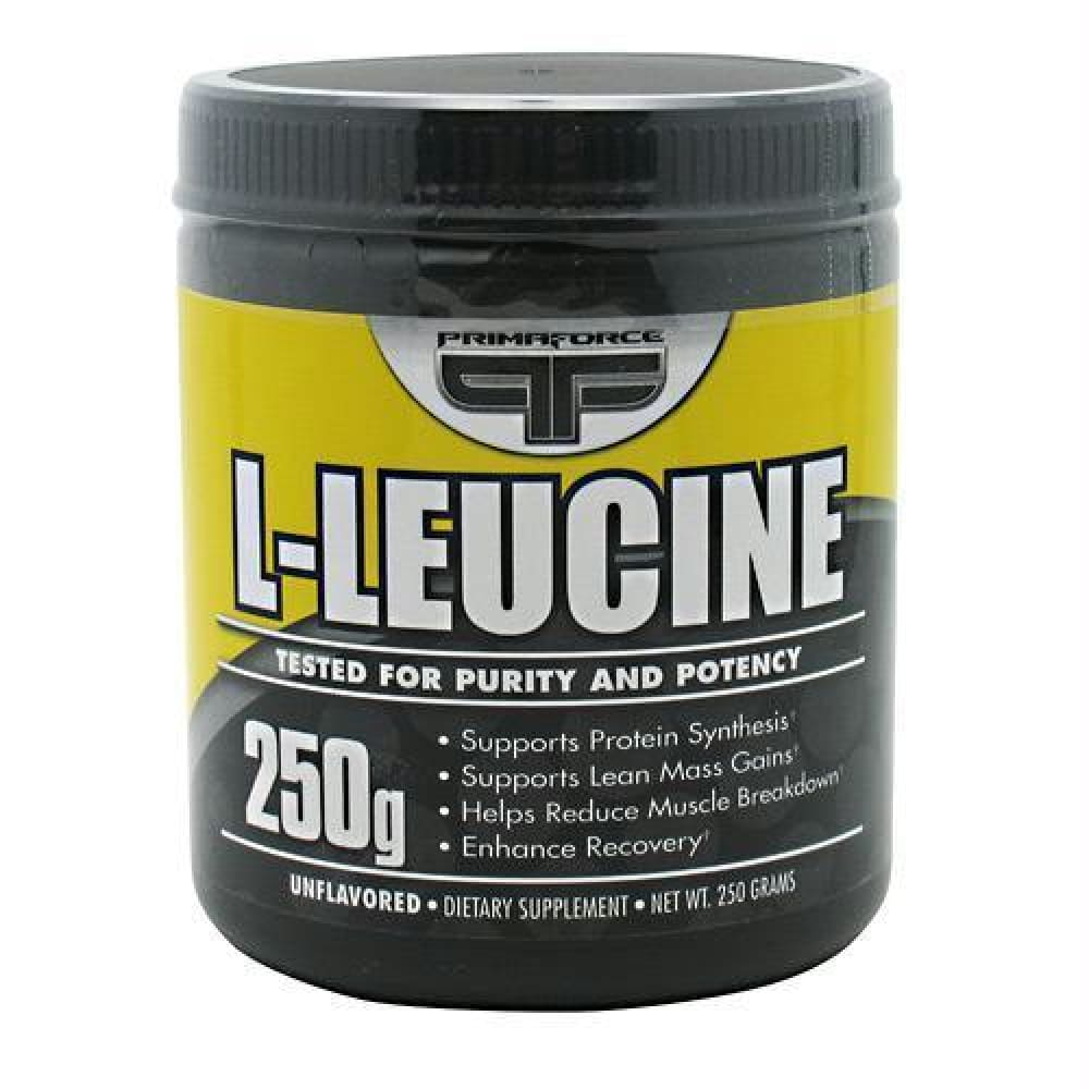 Primaforce L-Leucine - 250 g - Supplements