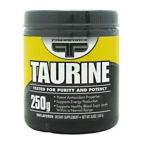 Primaforce Taurine Unflavored - Unflavored / 250 g - Supplements