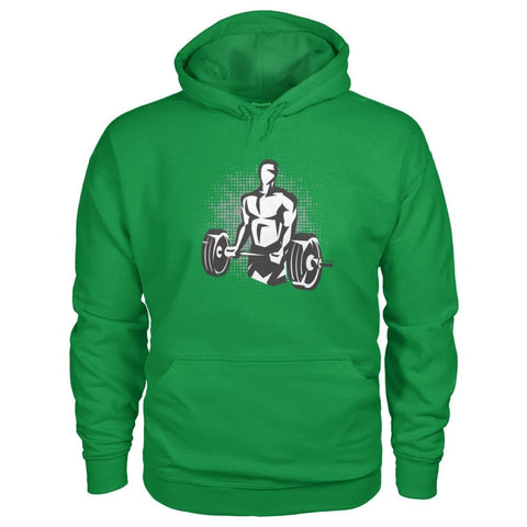 Pumpin Iron Hoodie - Irish Green / S - Hoodies
