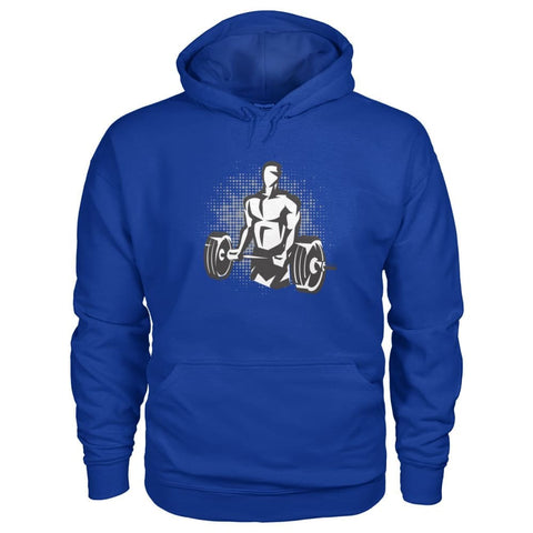 Image of Pumpin Iron Hoodie - Royal / S - Hoodies