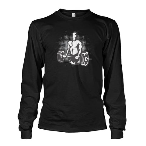 Pumpin Iron Long Sleeve - Black / S - Long Sleeves
